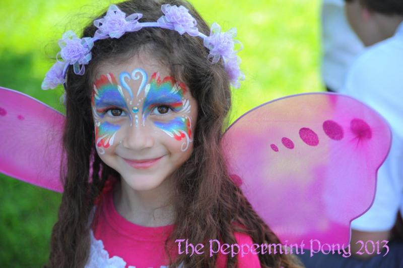 The Peppermint Pony Fabulous Face Painting