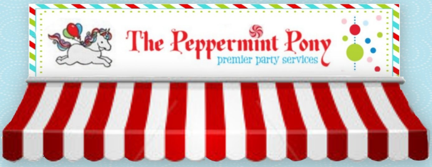 The peppermint Pony rides face painting Ellicott City Columbia Maryland mini