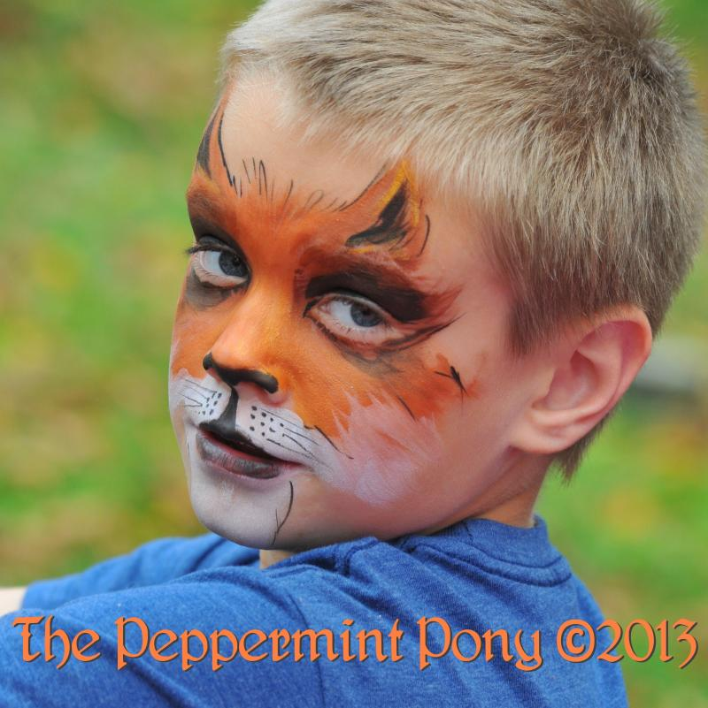 Fox Face Painting with The Peppermint Pony, Columbia Ellicott City Olney